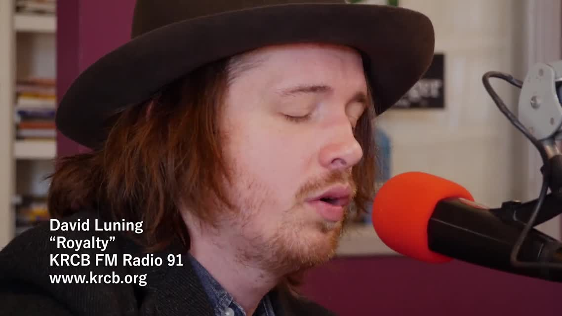 David Luning on KRCB FM Radio 91 - -Royalty-